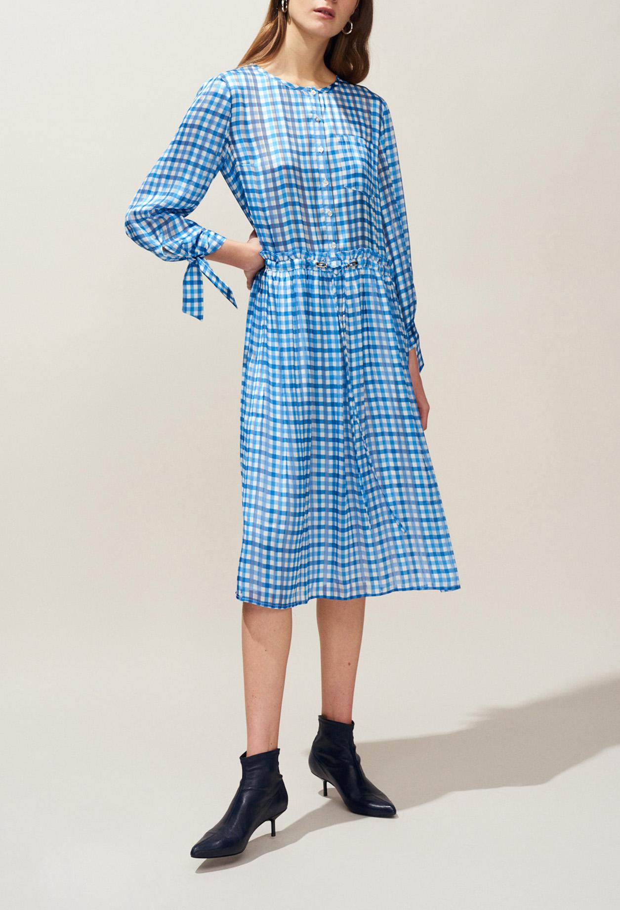ae741d551 Gingham print midi dress